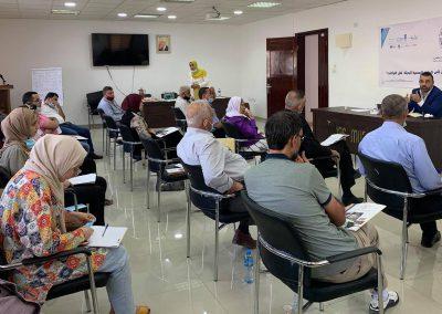 ورشة عمل حول الطرق الرسمية البديلة لحل النزاعات- طوباس