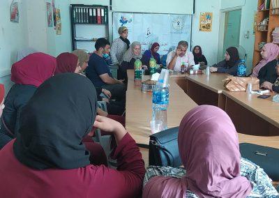 طاولة مستديرة حول تعزيز مشارطة الطالبات في مجالس الطلبة ترشيحاً وانتخاباً - طولكرم