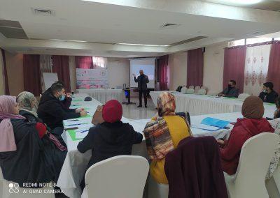 الدورة التدريبية حول الطرق الرسمية البديلة لحل النزاعات