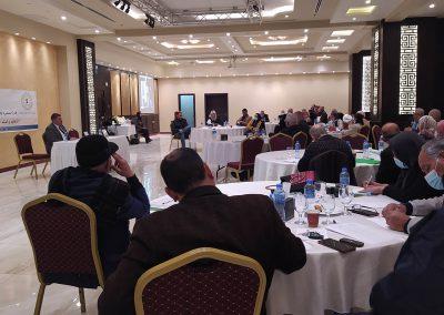 لقاء طاولة مستديرة لإطلاق دراسة حول التحكيم والسلم الأهلي في فلسطين