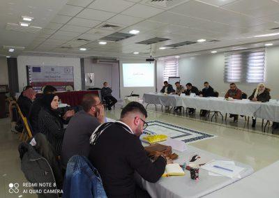 دورة تدريبية حول آليات تنظيم جلسات الاستماع والمساءلة للأحزاب في قضايا الانتخابات