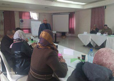 دورة تدريب مدربين في قضايا الديمقراطية وحقوق الإنسان