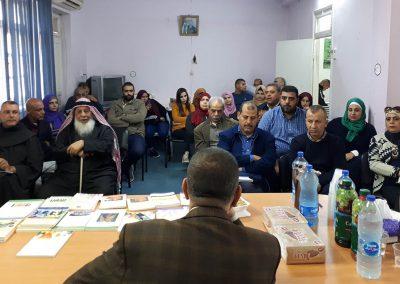 ورشة عمل مع المجتمع المدني والشباب والنساء والإعلام في  محافظة أريحا