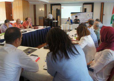 جلسة حوارية حول دور المناهج المدرسية في تعزيز النزاهة والشفافية والمساءلة ومكافحة الفساد