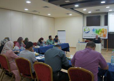يوم تدريبي للصحفيين  حول مهارات إعداد تقارير استقصائية تتعلق بقطاع الأمن الفلسطيني