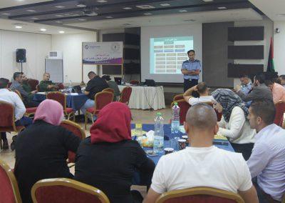 دورة تدريبة حول مكافحة الفساد في القانون الوطني والقانون الدولي لعناصر الأجهزة الامنية وقطاع العدل وجهات إنفاذ القانون