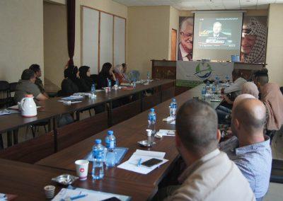 الدورة التدريبية للأجهزة الأمنية ومحافظة جنين حول الفساد، أشكاله، وطرق الوقاية منه
