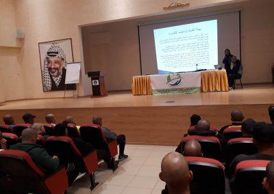 ورش عمل توعوية حول الفساد في كلية فلسطين للعلوم الشرطية- أريحا