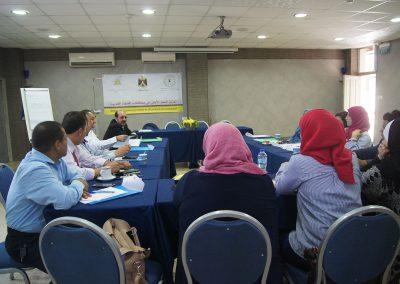 الدورة التدريبية حول الطرق البديلة لحل النزاعات