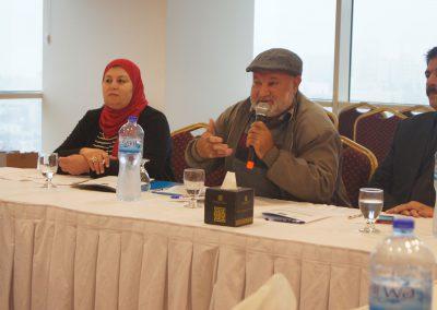 الجلسة الحوارية لتقييم عملية الرقابة على الانتخابات المحلية