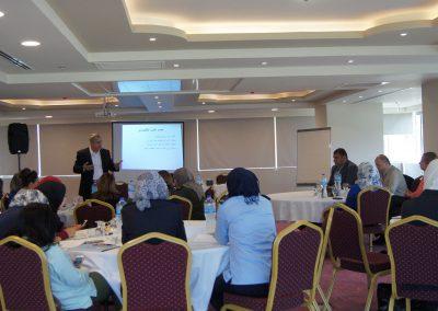 الدورة التدريبية حول مدى استجابة نظام الشكاوى في المؤسسة الأمنية للنوع الاجتماعي