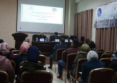ورشة عمل لطلبة الشريعة حول الحريات الدينية-جامعة القدس المفتوحة-نابلس