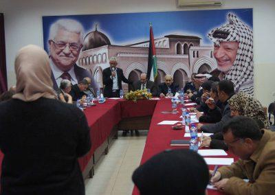 لقاء مع رجال الإصلاح والقضاء العشائري والشرطة /جنين