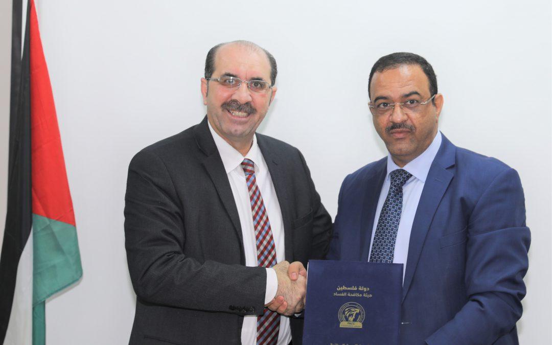 مكافحة الفساد ومركز شمس يوقعان مذكرة تعاون لتعزيز العمل المشترك