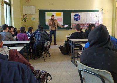 ورشة عمل مع معلمي التربية الإسلامية في المدارس حول حقوق الإنسان-مدرسة ذكور بيتا الأساسية /نابلس