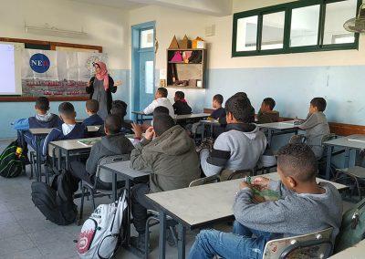 ورشة عمل مع معلمي التربية الإسلامية في المدارس حول الديمقراطية- مدرسة زهرة المدائن الأساسية للذكور/أريحا