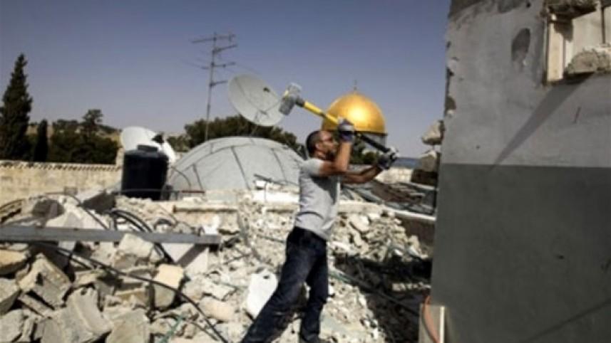 """مركز """"شمس""""  """"إسرائيل"""" الاستعمارية تمعن في قهر الفلسطينيين عبر توسيع سياسة """"الهدم الذاتي"""""""