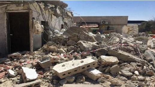 """مركز """"شمس"""" في تقريره الشهري: (142) منشأة استهدفتها دولة الاحتلال في شهر آب بالهدم أو توزيع الإخطارات"""